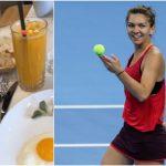 Foto: Ce mănâncă Simona Halep la micul dejun pentru a se menține în formă