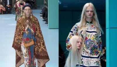 O moldoveancă a defilat pentru extravaganta prezentare de modă Gucci