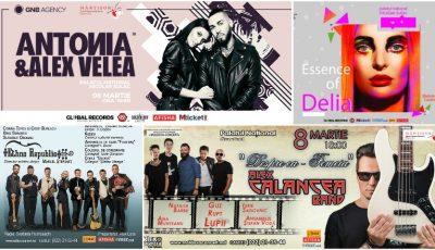 Ce concerte vor fi organizate de 1 și 8 Martie în Capitală?