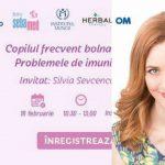 """Foto: Maria Marian te invită la seminarul ,,Copil frecvent bolnav. Problemele de imunitate la copii""""!"""