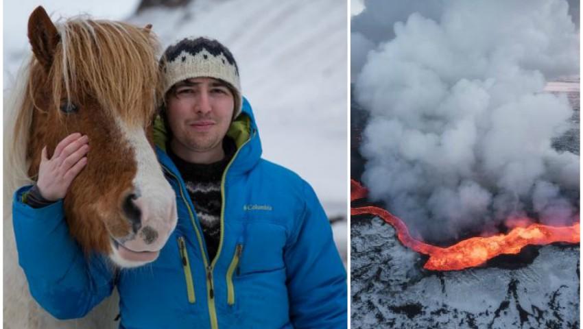 Imaginile sale au fost publicate în National Geographic! Povestea fotografului român stabilit în Islanda