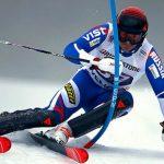 Foto: Video. Schiorul rus Pavel Trihiciov a căzut pe pantă la Jocurile Olimpice