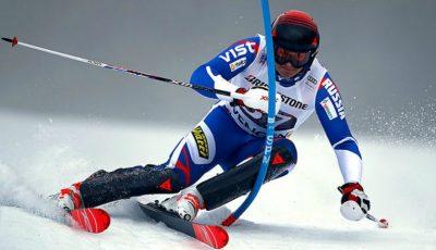 Video. Schiorul rus Pavel Trihiciov a căzut pe pantă la Jocurile Olimpice