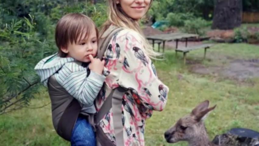 Foto: O prezentatoare TV din România și-a pierdut copilul. Cum l-a găsit?
