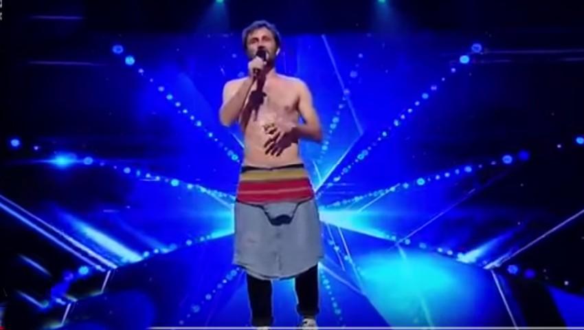 "Un moldovean i-a uimit pe jurații emisiunii ,,Românii au Talent"""
