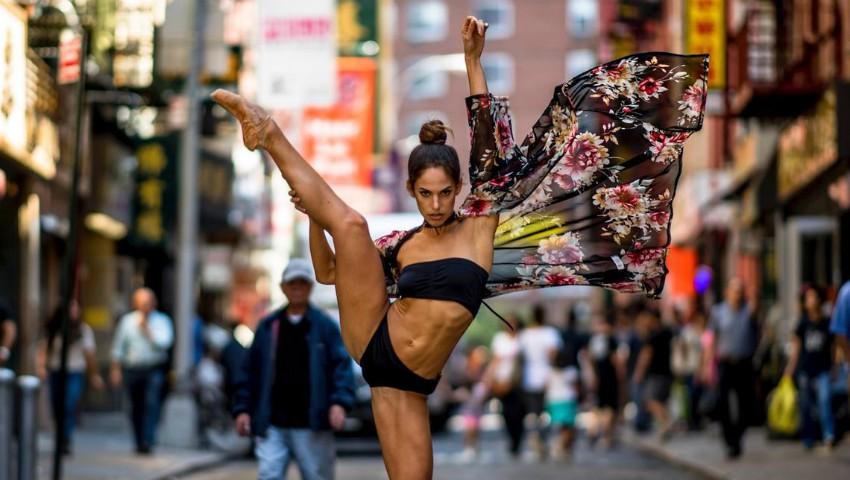 O balerină profesionistă și-a arătat celulita pe social media