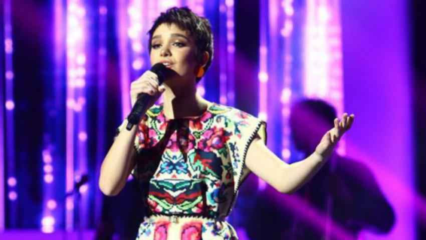 """Foto: Olga Verbițchi a câștigat marele trofeu la festivalul """"Sanremo Music Awards""""!"""