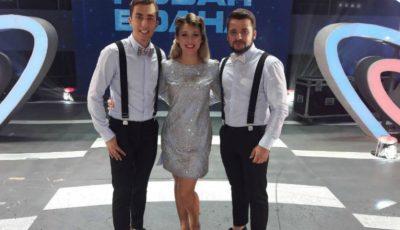 DoReDos a încins atmosfera peste Prut, în cadrul finalei naționale Eurovision România