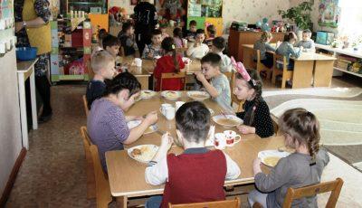Meniuri unice pentru toții copiii de la grădinițe, indiferent de vârstă