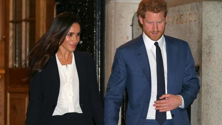 Foto: Meghan Markle și Prințul Harry au apărut pentru prima dată în public pe covorul roșu