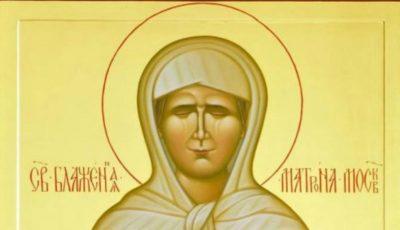 Icoana Sfintei Matrona de la Moscova, va fi adusă la Chișinău