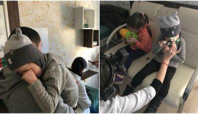 Ajutor pentru doi frățiori, în vârstă de 4 și 5 ani! Copiii s-au născut cu paralizie cerebrală și orbire