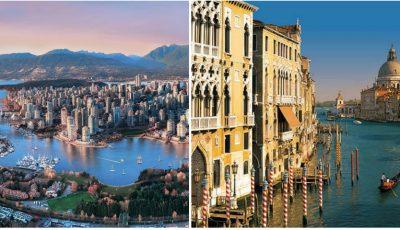 Topul celor mai frumoase orașe din lume