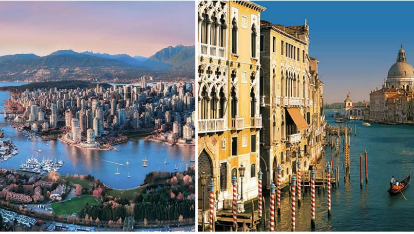 Foto: Topul celor mai frumoase orașe din lume