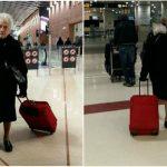Foto: O bătrânică de 93 de ani i-a lăsat mască pe internauți!