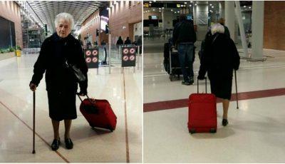 O bătrânică de 93 de ani i-a lăsat mască pe internauți!