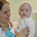 """Foto: Diana Al Faraj, medic reproductolog: """"Căpitane, suntem gata pentru călătoria de nouă luni!"""""""