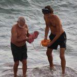 Foto: O turistă din Rusia a născut în apele Mării Roșii din Egipt