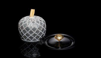Cea mai scumpă bomboană din lume este: o pralină de ciocolată cu fire din aur