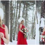 Foto: Cornelia Ștefăneț, gingașă și superbă în mijlocul zăpezii de primăvară!