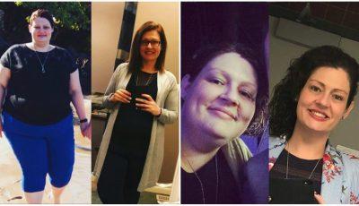 Această femeie a slăbit aproape 70 de kg cu doar trei sfaturi primite de la nutriționist! Iată care sunt acestea