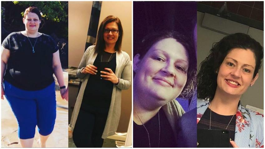 Foto: Această femeie a slăbit aproape 70 de kg cu doar trei sfaturi primite de la nutriționist! Iată care sunt acestea