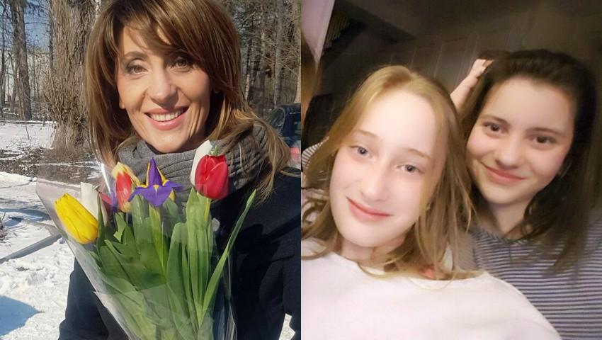 Foto: Mesaj emoționant pentru Lori și Beti! Fetele Aurei sunt astăzi omagiate