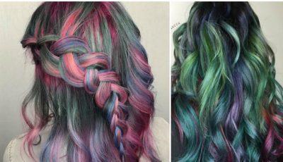 Tendințele primăverii: părul în culoarea plantelor suculente