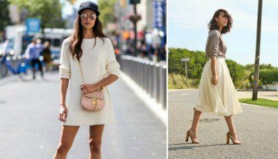 Cum să asortezi corect fusta sau rochia cu pantofii