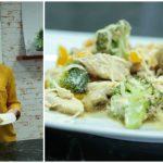 Foto: Salată caldă de la Maria Arpenti