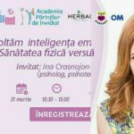 Foto: Maria Marian te invită la seminar: Cum dezvoltăm inteligența emoțională la copii