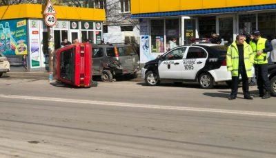 Un accident grav s-a produs astăzi în cartierul Poșta Veche din Capitală