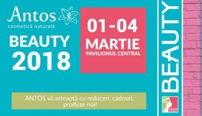 Vezi ce surprize ți-a pregătit Antos Cosmetică Naturală în cadrul expoziției BEAUTY – 2018 de la Moldexpo!