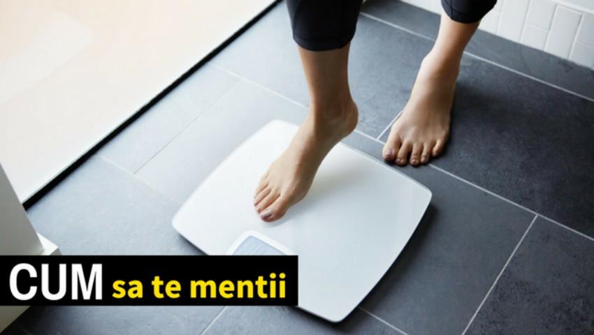 Foto: Modurile prin care poți să îți menții o greutate sănătoasă, fără să te cântărești zilnic
