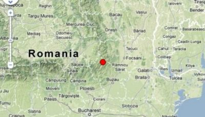 Un cutremur de mare adâncime produs în zona Vrancea, s-a resimțit și în Moldova