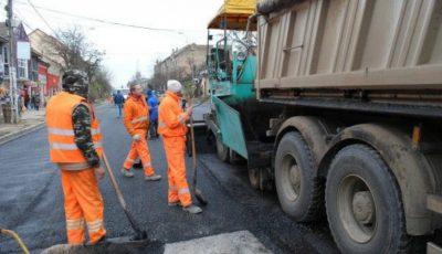 Peste o mie de localități vor avea drumuri reparate în acest an