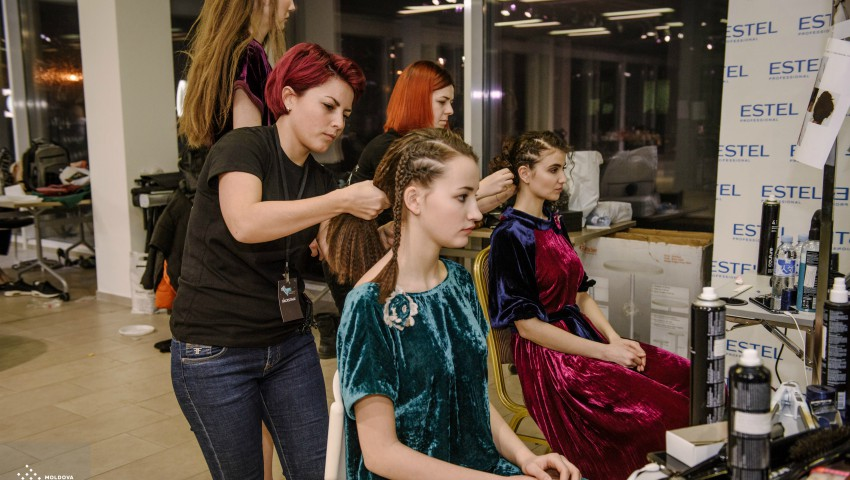 Foto: Din culisele Moldova Fashion Days SS 2018