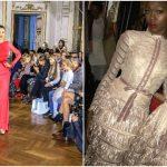"""Foto: ,,Malliny"""", rochiile elegante și exclusiviste ale brandului autohton au impresionat publicul la Paris Fashion Week!"""
