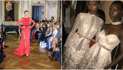 """,,Malliny"""", rochiile elegante și exclusiviste ale brandului autohton au impresionat publicul la Paris Fashion Week!"""