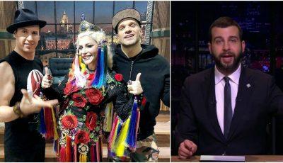 Zdob și Zdub, Loredana și rapperul Ligalize au fost invitații emisiunii lui Ivan Urgant!