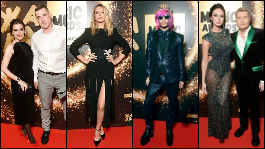 "Foto: Cum s-au îmbrăcat vedetele din Rusia la prestigiosul eveniment muzical ,,Zhara"" 2018?"