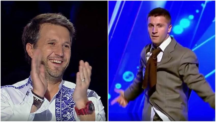 """Foto: Jorik Popusoi, din Chișinău, i-a cucerit pe jurați la ,,Românii au Talent""""!"""