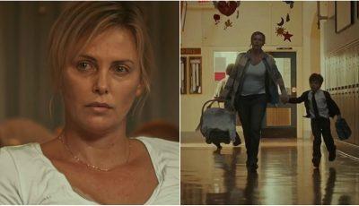 Charlize Theron apare în rolul unei mame extenuate cu trei copii