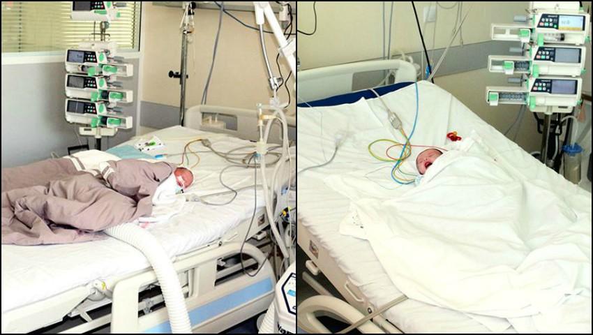 Foto: Doi nou-născuți au fost salvați de la moarte de către medicii moldoveni