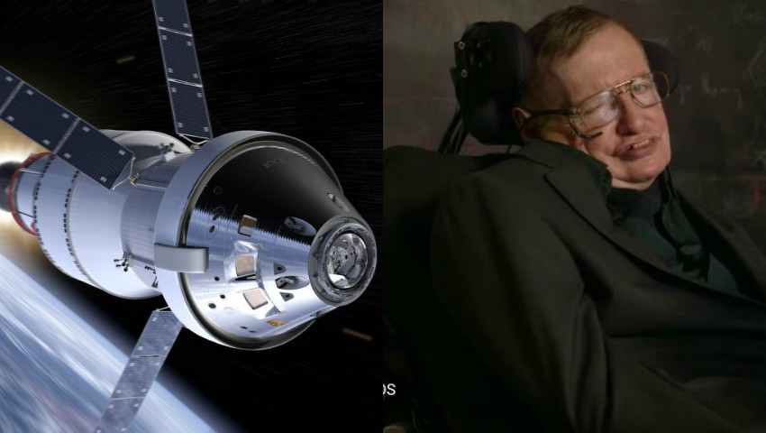 Foto: NASA i-a adus un omagiu emoționant fizicianului Stephen Hawking. Video!