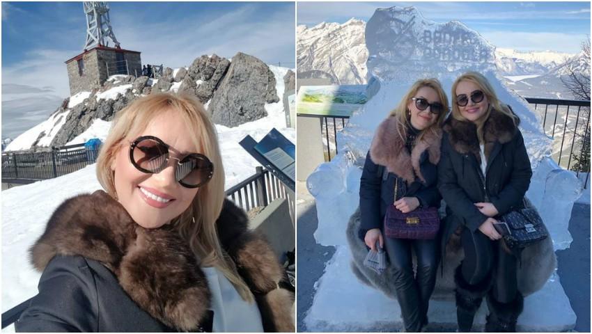 Adriana Ochișanu a ajuns la sora ei, în Canada, unde va susține mai multe concerte!