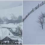 Foto: Nordul Moldovei este acoperit de zăpadă. Se circulă cu dificultate pe drumuri
