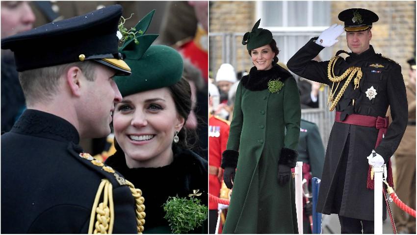 Foto: Ducii de Cambridge au participat la ceremonia anuală organizată de St. Patrick`s Day