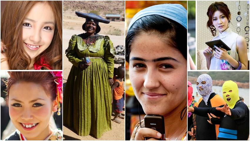 Ce trăsături ale femeilor sunt considerate atrăgătoare în diferite culturi ale lumii?