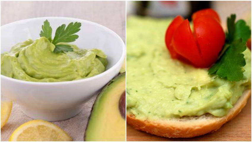 Foto: Pastă de avocado cu usturoi